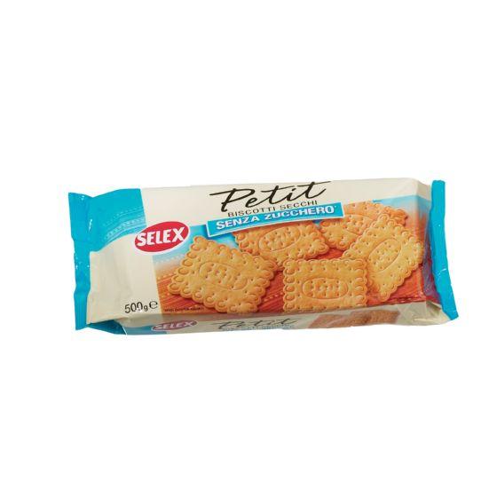 Famoso biscotti secchi senza zucchero, scheda prodotto | selex MK34