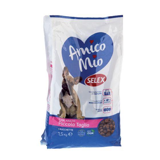 Crocchette per cani di piccola taglia scheda prodotto selex for Marsupio per cani di piccola taglia